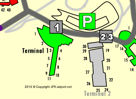 JFK-airport-Terminal-1-map