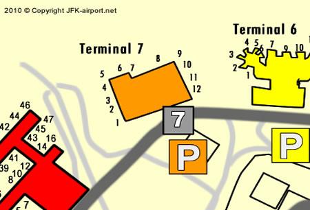 Terminal 7   JFK Airport