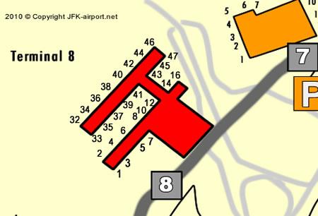 Terminal 8 Jfk Airport
